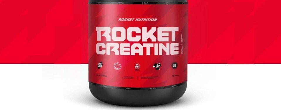 Rocket Creatine – PRAWDZIWE opinie i efekty